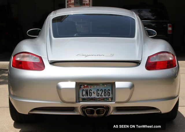 2007 Porsche Cayman S Hatchback 2 - Door 3.  4l Cayman photo