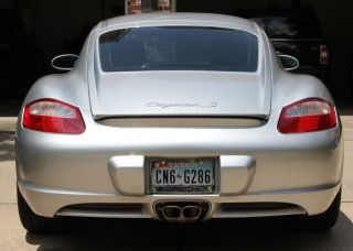 2007 Porsche Cayman S Hatchback 2 - Door 3.  4l photo