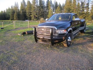 2011 Ram 3500 Laramie Longhorn Extended Crew Cab Pickup 4 - Door 6.  7l photo