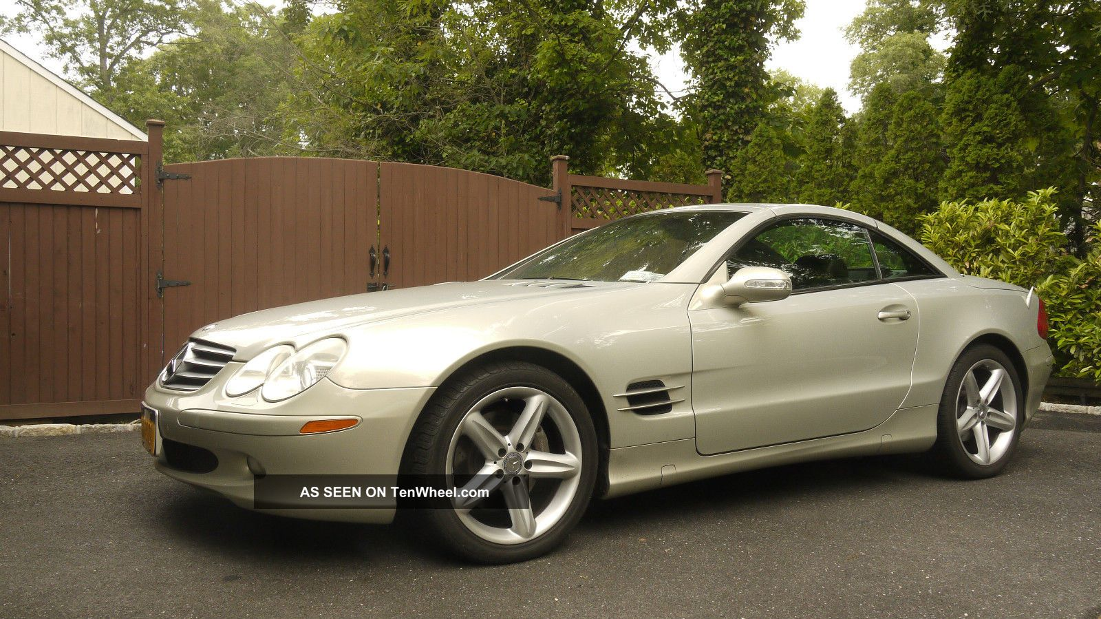 2003 mercedes benz sl500 base convertible 2 door 5 0l