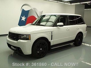 2012 Land Rover Range Rover Hse 4x4 30k Mi Texas Direct Auto photo