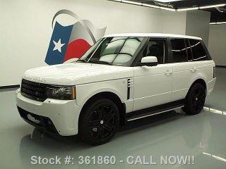 2012 Land Rover Range Rover Hse 4x4 30k Mi Texas Direct Auto photo