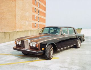 Andy Warhol ' S Prized 1974 Rolls Royce Silver Shadow: No Greater Opportunity. photo