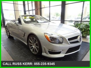 2014 Sl63 Amg® Turbo 5.  5l V8 32v Automatic Rear Wheel Drive Convertible photo