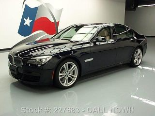 2013 Bmw 750i M Sport Hud 20 ' S 3k Texas Direct Auto photo