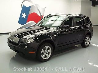 2008 Bmw X3 3.  0si Awd Pano Roof 58k Mi Texas Direct Auto photo