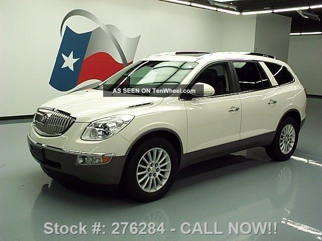 2011 Buick Enclave Cxl Awd Dual 38k Texas Direct Auto Enclave photo