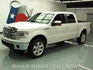2013 Ford F - 150 Lariat Crew 4x4 Ecoboost 211 Mi Texas Direct Auto photo