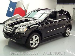2011 Mercedes - Benz Ml350 4matic Awd P1 20k Texas Direct Auto photo