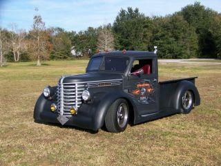 Rare 1948 Diamond T Truck Hot Rod Custom photo