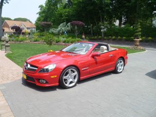 2009 Mercedes Benz 550sl Showroom Condition photo