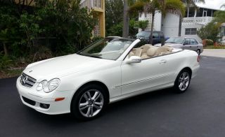 2008 Mercedes Benz Clk 350 Convertible,  Interior,  Power Top & Seats photo