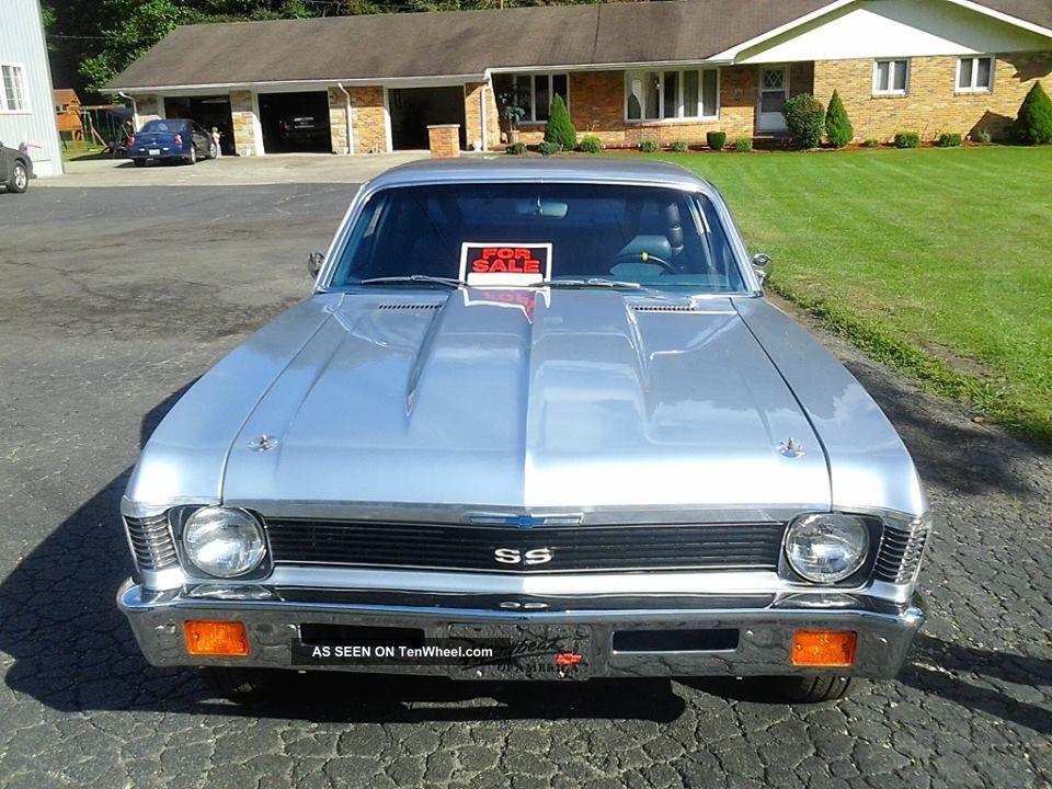 1972 Chevy Nova Ss Gray