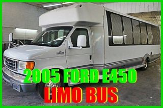2005 Ford E - 450 Party Limo Bus Diesel Wow Business Opportunity Fun 80+ Photos photo