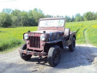 1953 Willys Cj3b Jeep photo
