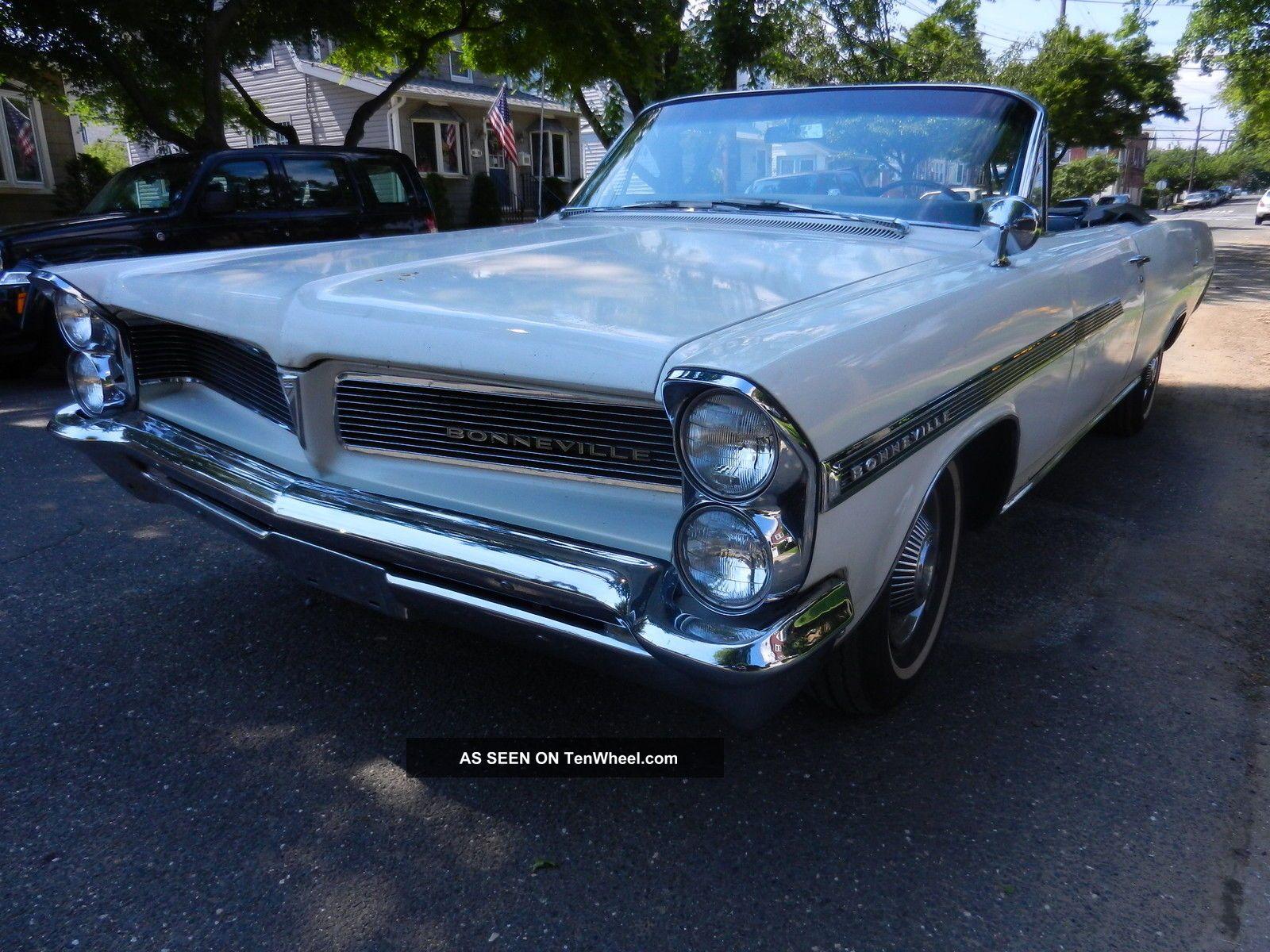 1963 Pontiac Bonneville Convertible Bonneville photo