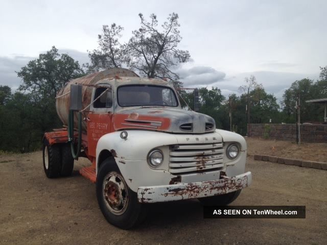 1949 Ford F6 Truck,  Later Ohv Engine,  California Registered,  Drivable Other photo