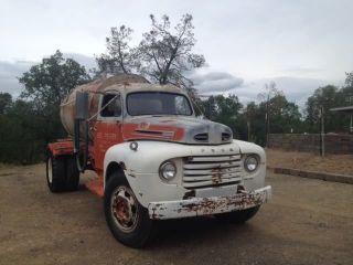 1949 Ford F6 Truck,  Later Ohv Engine,  California Registered,  Drivable photo