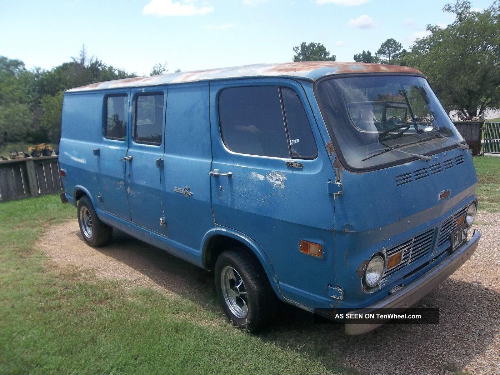 1968 Chevrolet G10 Van Rat Rod Hot Rod Scooby Do Van Mystery Van ...
