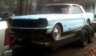 1965 Mustang Convertible photo