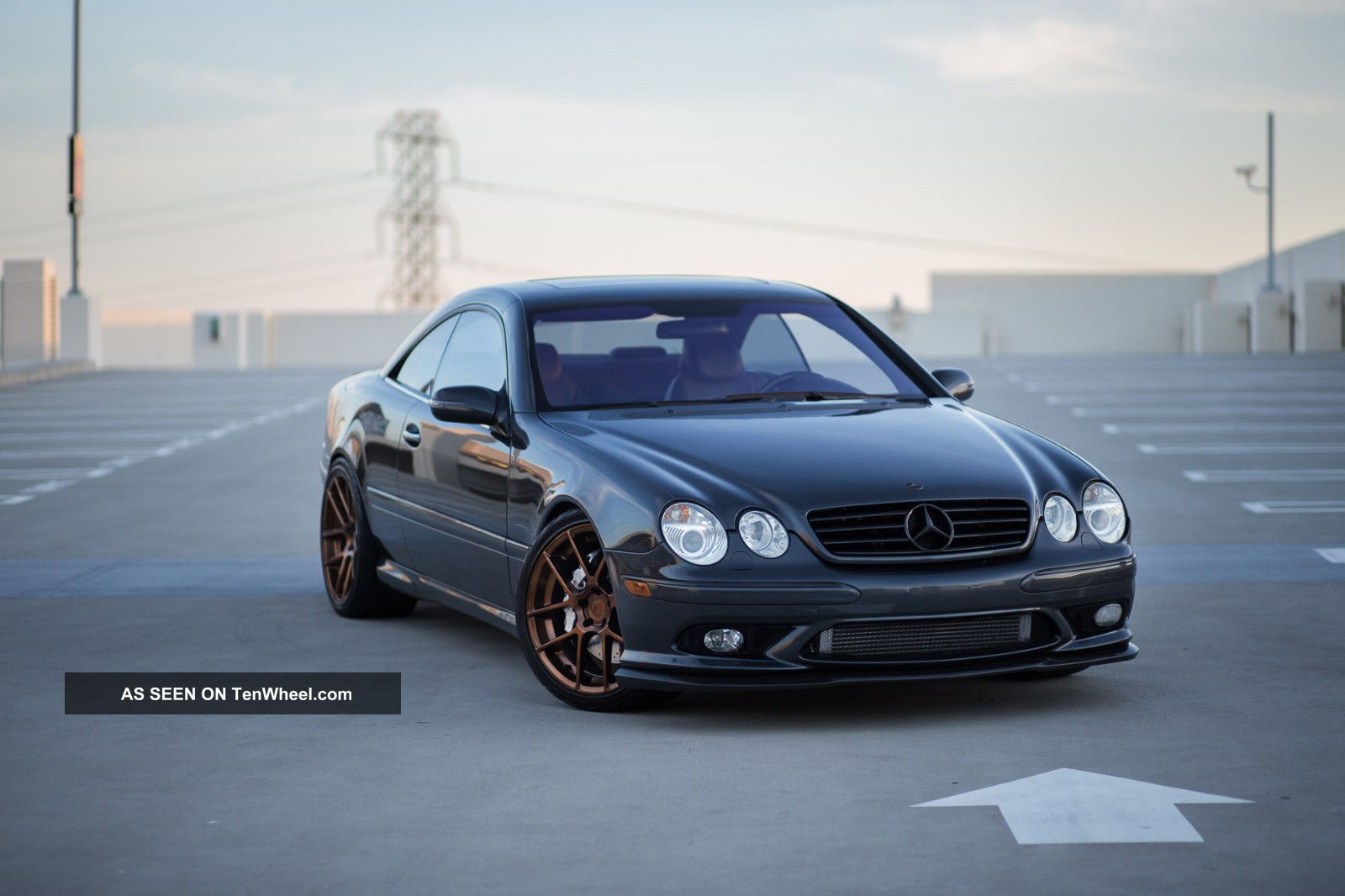 2003 mercedes cl55 amg one of a kind for Mercedes benz cl amg