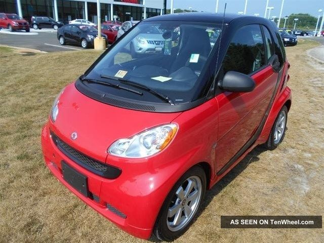 2012 Smart Fortwo Passion Coupe 2 - Door 1.  0l Fun Fun Fun Other Makes photo