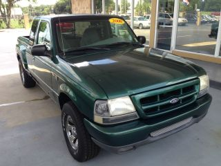2000 Ford Ranger Xlt Extended Cab Pickup 2 - Door 3.  0l photo