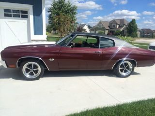 1970 Chevelle Ss 396 Big Block Numbers Matching With Build Sheet Fresh Resto photo