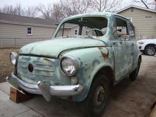1963 Fiat 600d Needs Complete Restoration photo
