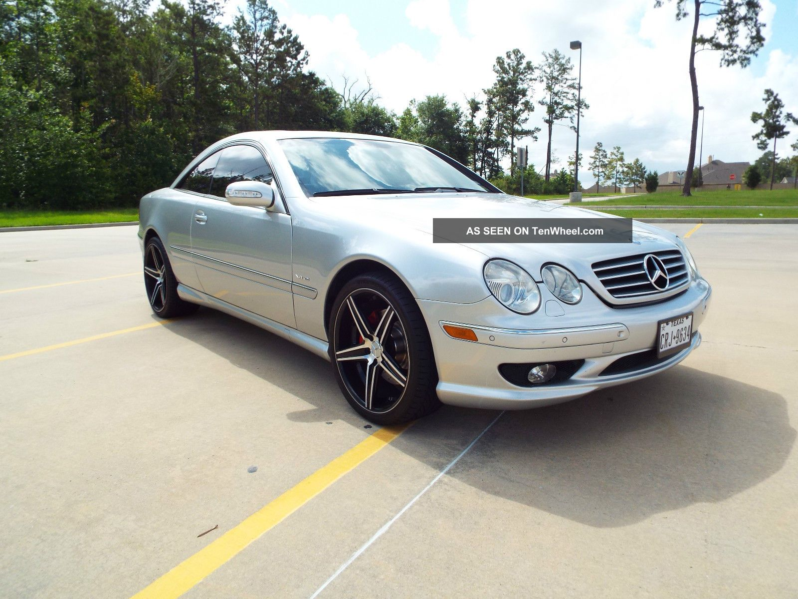 2001 mercedes benz cl600 coupe with amg options for Mercedes benz options