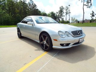 2001 Mercedes Benz Cl600 Coupe With Amg Options & Aftermarket Wheels photo