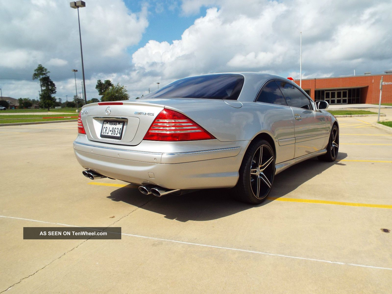 2001 mercedes benz cl600 coupe with amg options aftermarket wheels. Black Bedroom Furniture Sets. Home Design Ideas