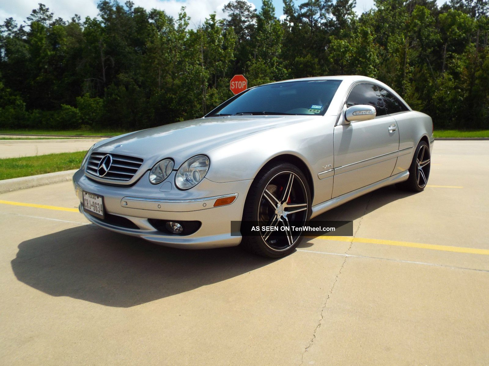 2001 mercedes benz cl600 coupe with amg options for Cl600 mercedes benz