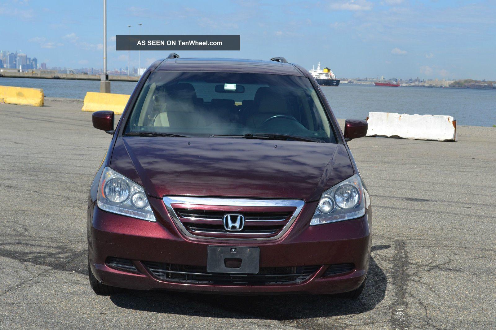 2007 Honda Odyssey Ex - L Navi Dvd / Tv Back Up Cam Runs Odyssey photo