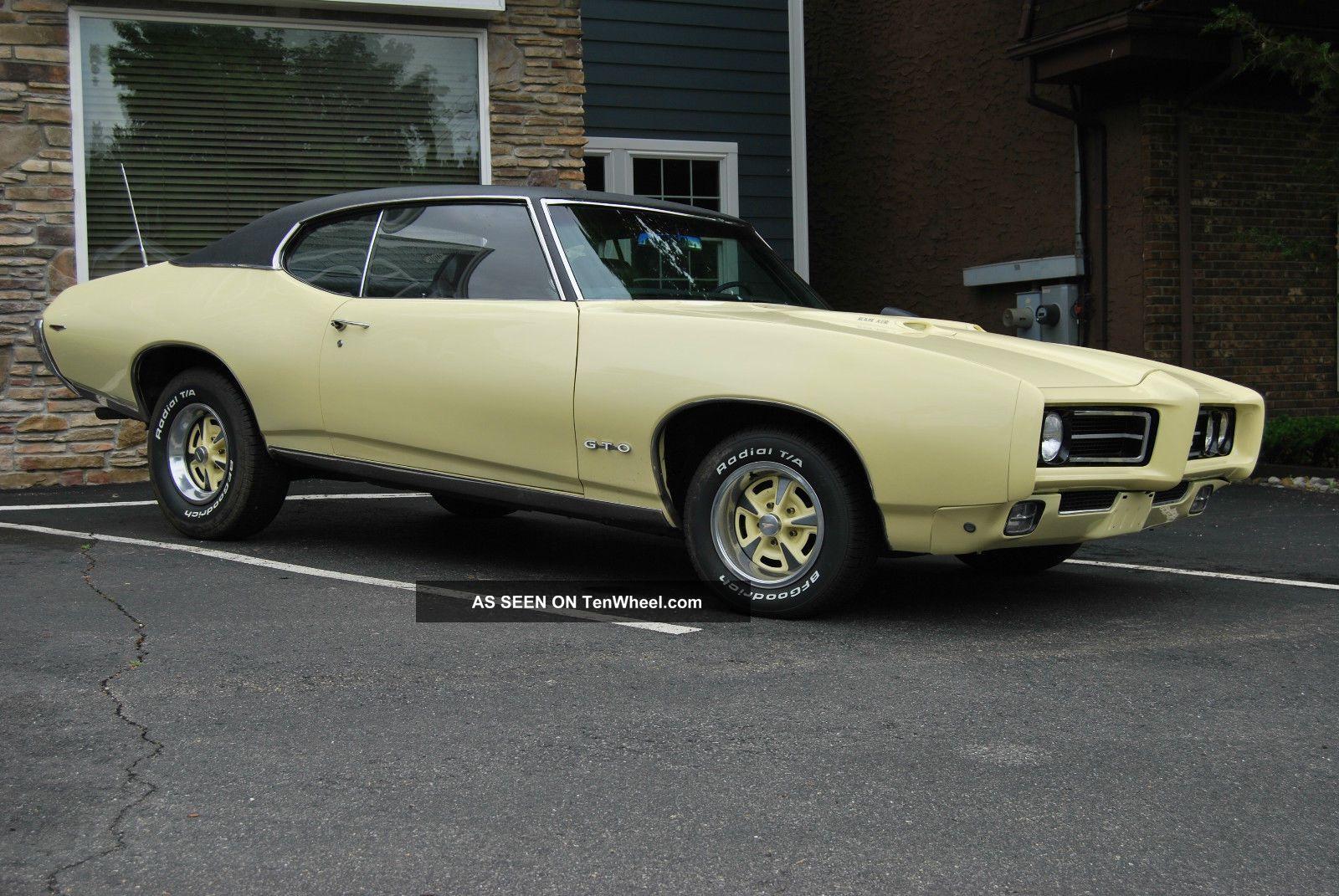1969 Pontiac Gto.  4 Speed Factory A / C Phs Docs Numbers Match GTO photo