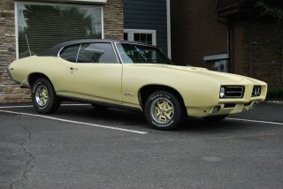 1969 Pontiac Gto.  4 Speed Factory A / C Phs Docs Numbers Match photo
