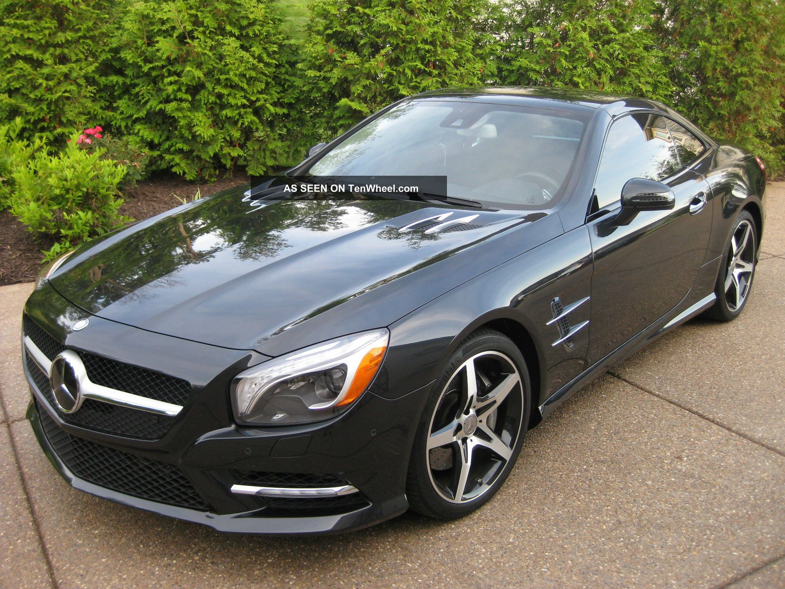 2013 Mercedes Benz Sl550 Magnetite Black Perfect Msrp