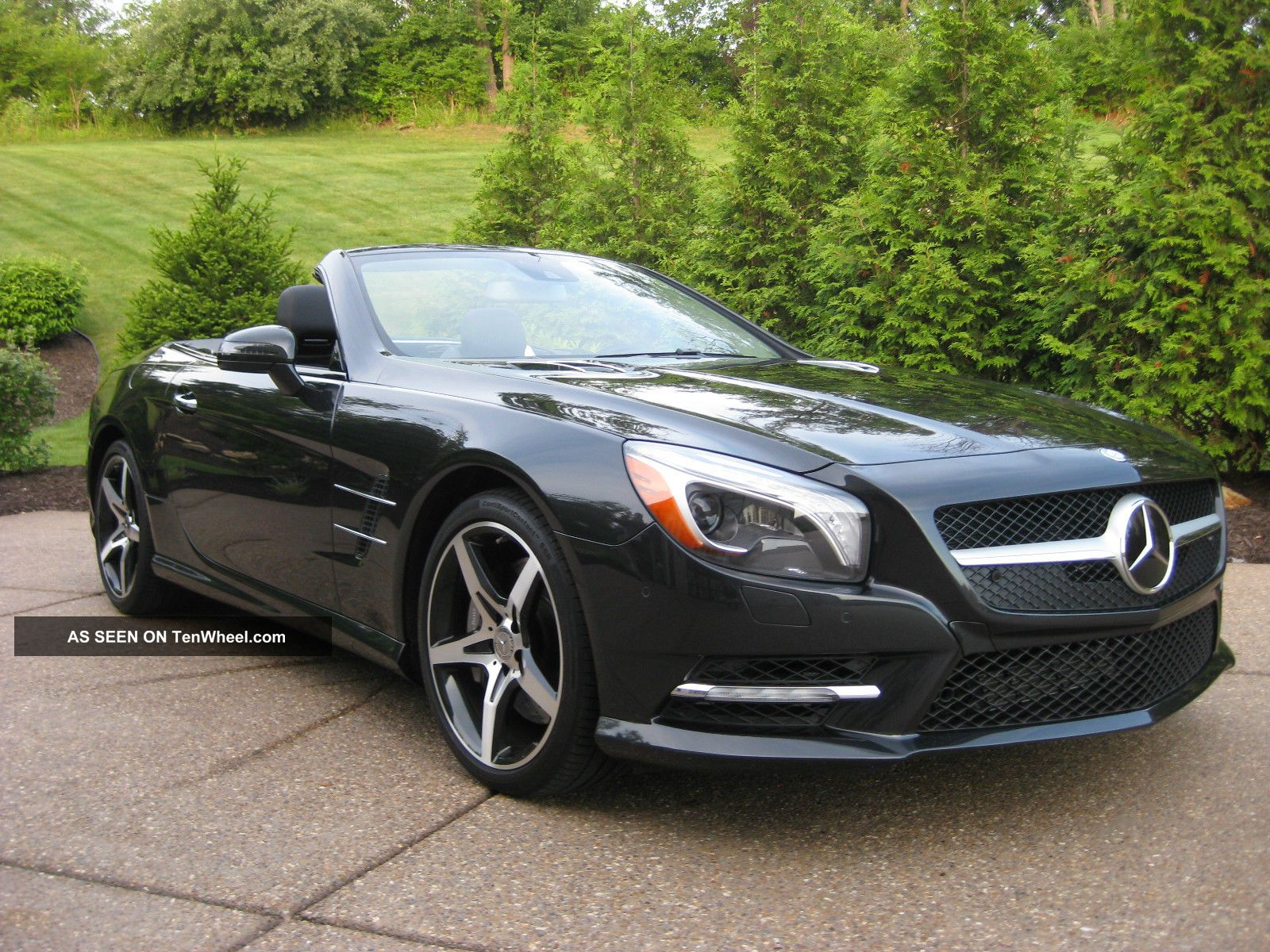 2013 mercedes benz sl550 magnetite black perfect msrp for Mercedes benz msrp
