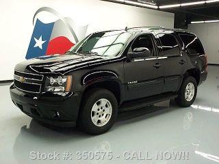 2013 Chevy Tahoe Lt 4x4 Htd 8 - Passenger 25k Mi Texas Direct Auto photo