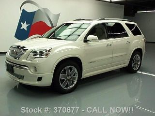 2011 Gmc Acadia Denali 7 - Pass Dual 64k Texas Direct Auto photo