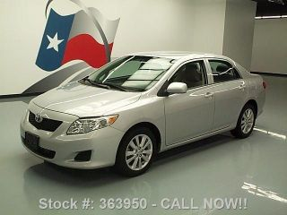 2010 Toyota Corolla Le Automatic Cd Audio Alloys 57k Mi Texas Direct Auto photo