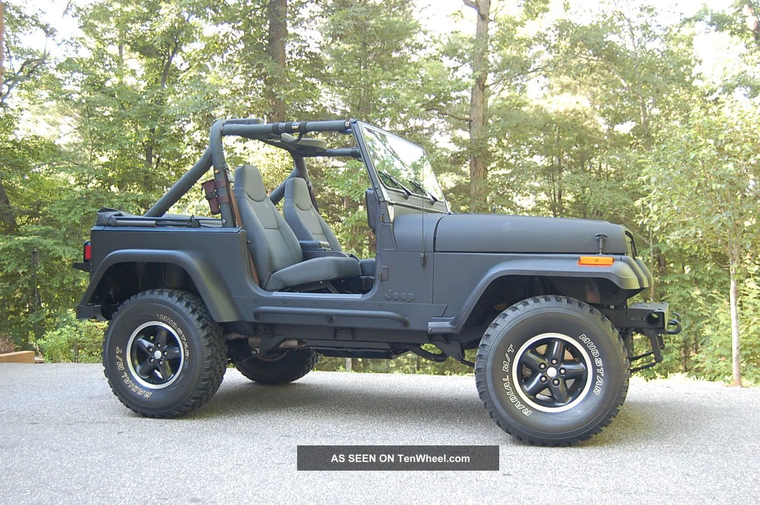 1988 jeep wrangler islander sport utility 2 door 4 2l. Black Bedroom Furniture Sets. Home Design Ideas