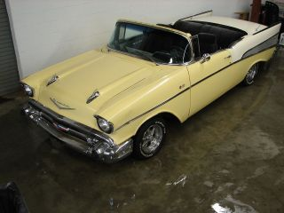 Awesome Custom 1957 Chevy Belair Convertible,  350 - V8,  Looks / Runs,  Project photo