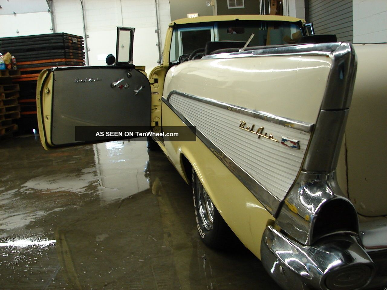Awesome Custom 1957 Chevy Belair Convertible 350 V8 Looks Runs Bel Air Project