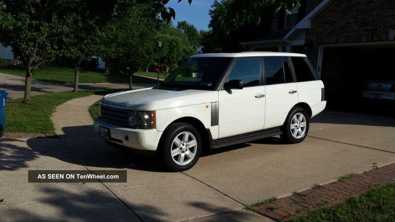 Very 2004 Range Rover Hse Range Rover photo