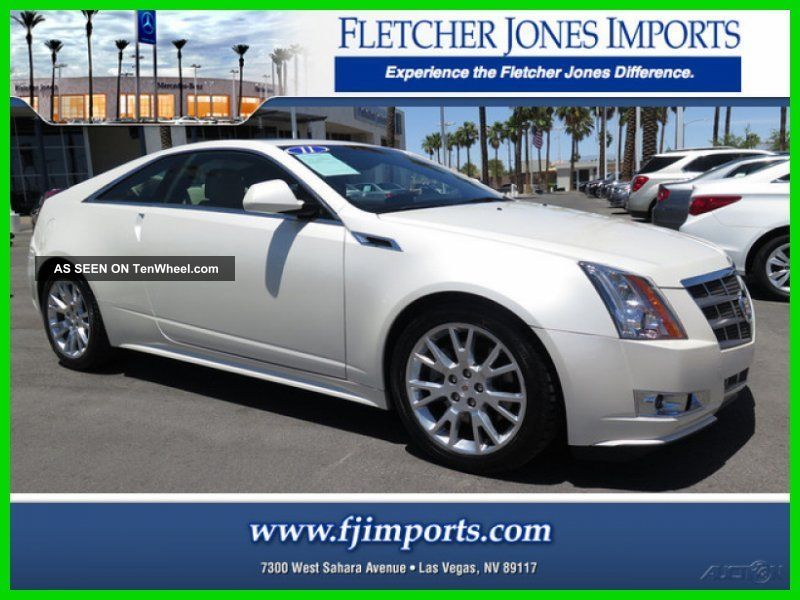 2011 Premium 3.  6l V6 24v Automatic Rwd Coupe Bose Onstar CTS photo
