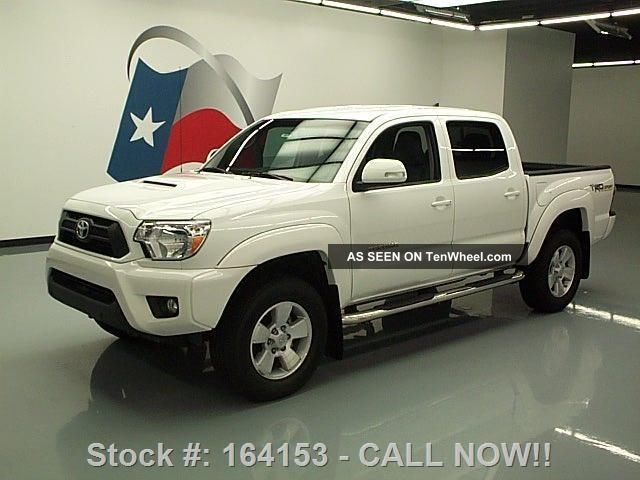 2014 Toyota Tacoma Prerunner V6 Double Cab Trd Sport 9k Texas Direct Auto Tacoma photo