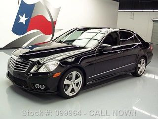 2010 Mercedes - Benz E350 Sport P1 Awd 47k Mi Texas Direct Auto photo