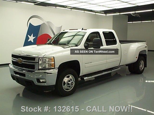 2013 Chevy Silverado 3500hd Ltz Crew 4x4 Diesel Dually Texas Direct Auto Silverado 3500 photo