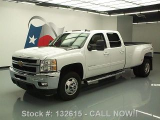 2013 Chevy Silverado 3500hd Ltz Crew 4x4 Diesel Dually Texas Direct Auto photo